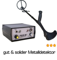 Metalldetektor PULSE AR I